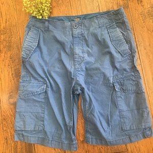 Men's Blue Old Navy Cargo Shorts